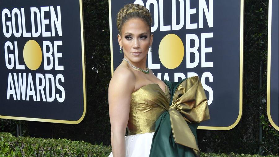 Jennifer Lopez Golden Globes 2020