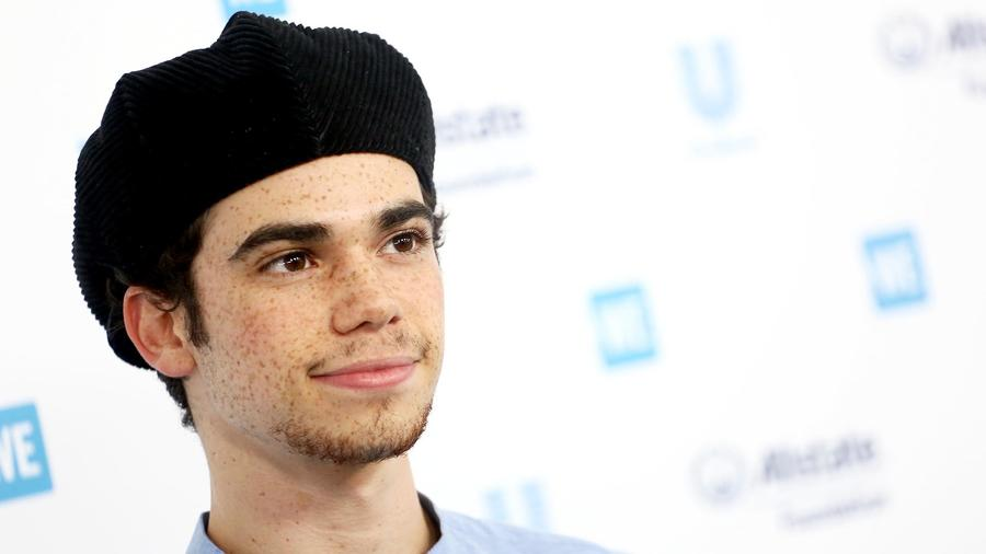 Cameron Boyce en el WE Day California en 2019