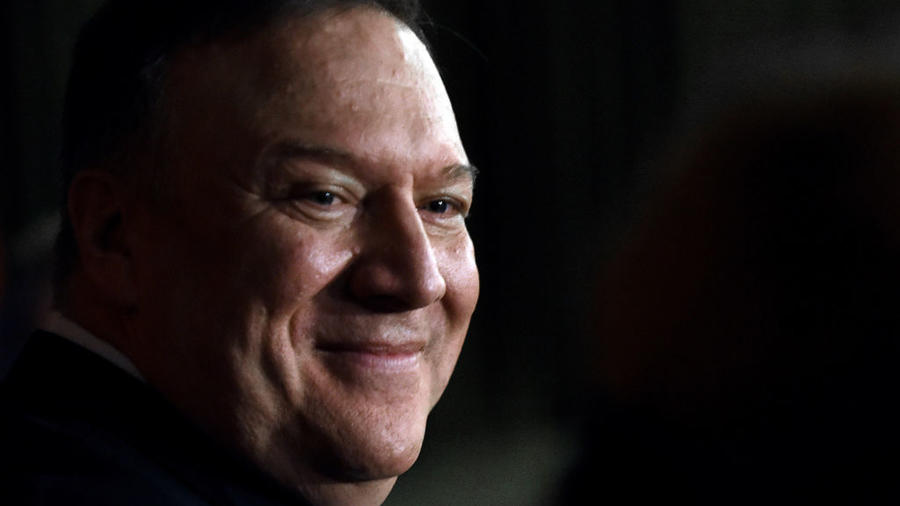 Secretary of State Mike Pompeo Speaks on Foreign Policy in Bushnell