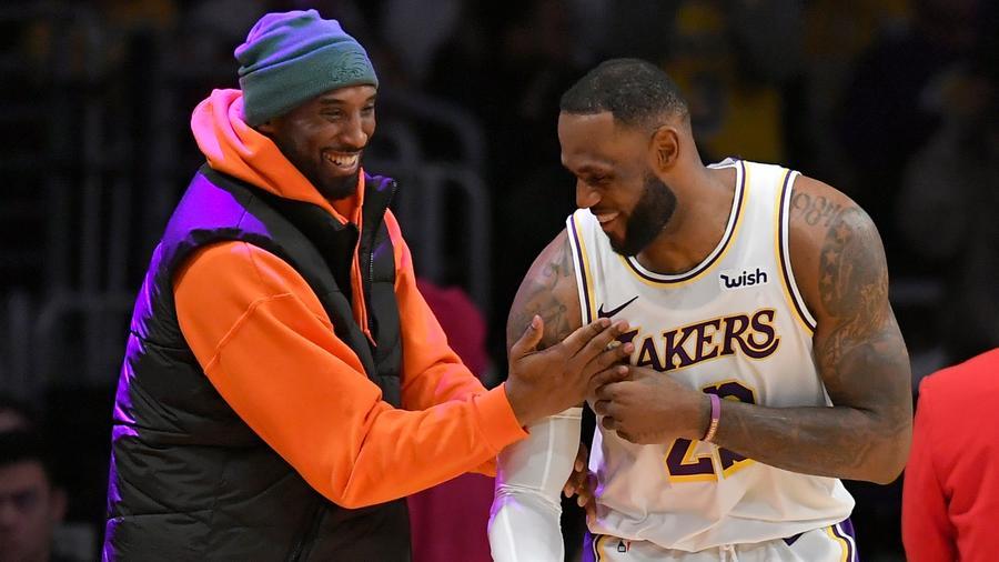 Kobe Bryant y LeBron James