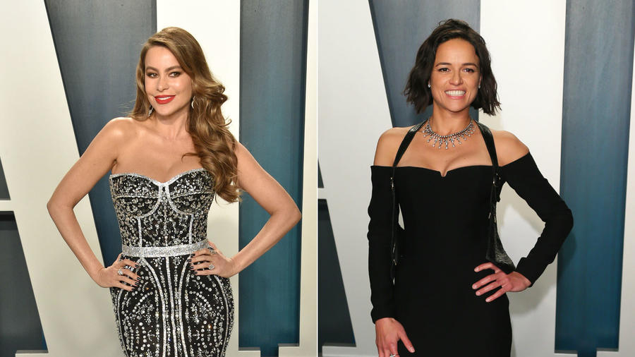 Sofía Vergara, Michelle Rodriguez, Vanity Fair Oscars After-Party 2020