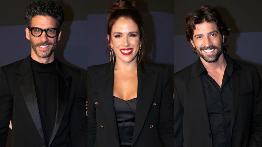 Erick Elías, David Chocarro, Sylvia Sáenz