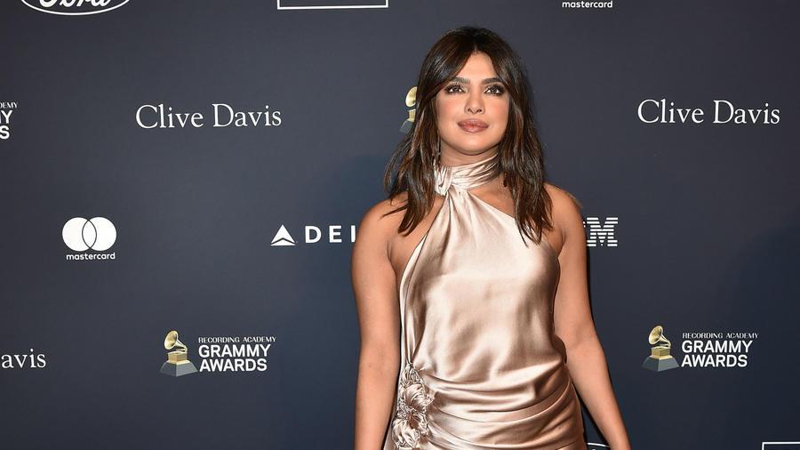 Priyanka Chopra, gala previa a los Grammys 2020