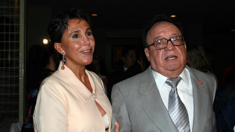 Roberto Gómez Bolaños y Florinda Meza