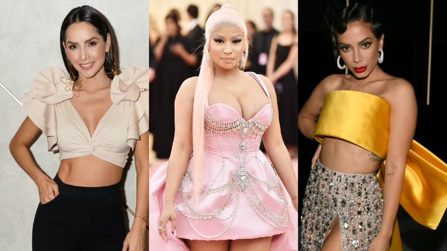 Carmen Villalobos, Nicki Minaj y Anitta