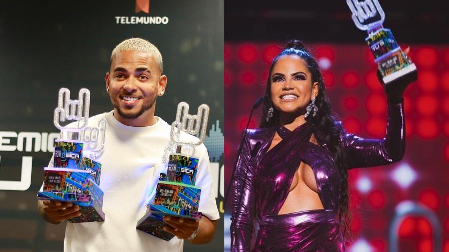 Ozuna y Natti Natasha ganadores en Premios Tu Música Urbano 2020