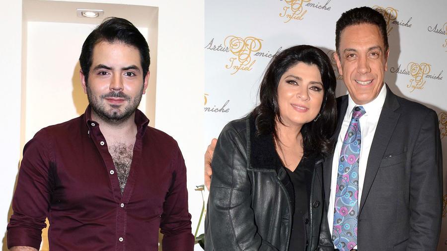 Victoria Ruffo, Omar Fayad y José Eduardo Derbez