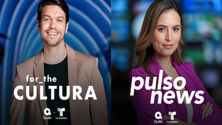 "Telemundo Launches ""Pulso News"" and ""for the Cultura"" on Quibi"