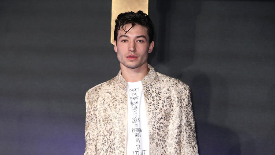 Ezra Miller Allegedly Chokes a Woman in Viral Video