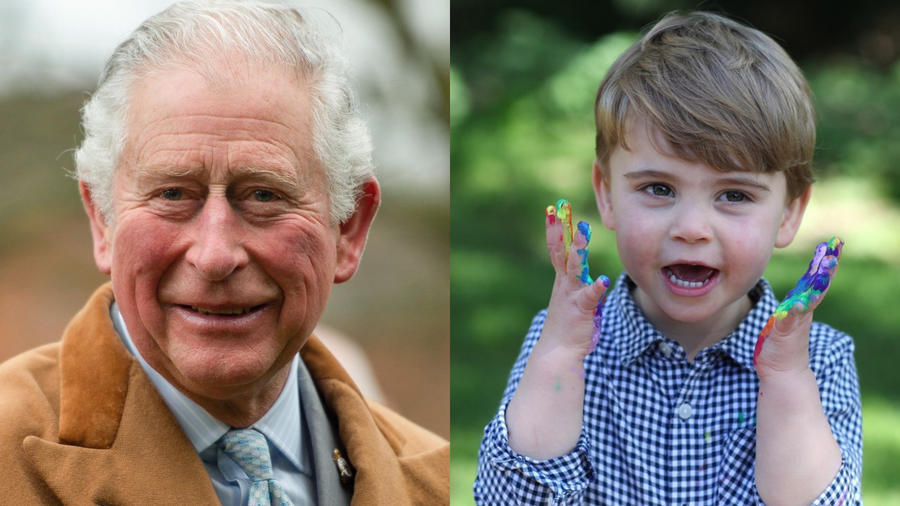 Príncipe Carlos y príncipe  Louis