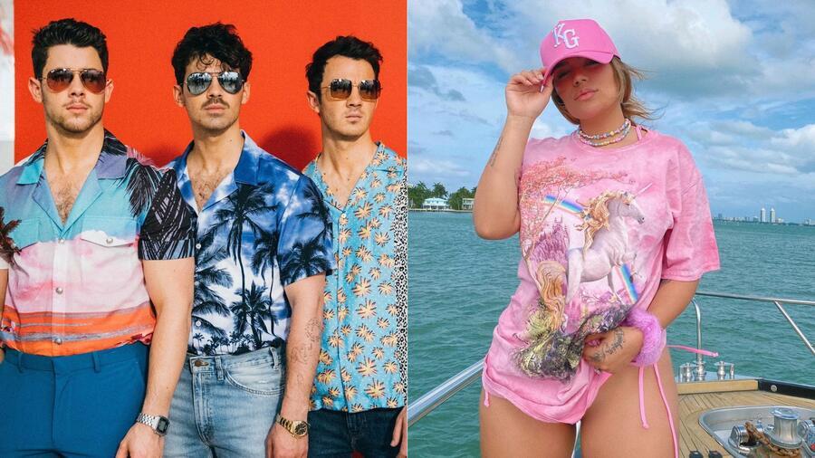 Jonas Brothers; Karol G