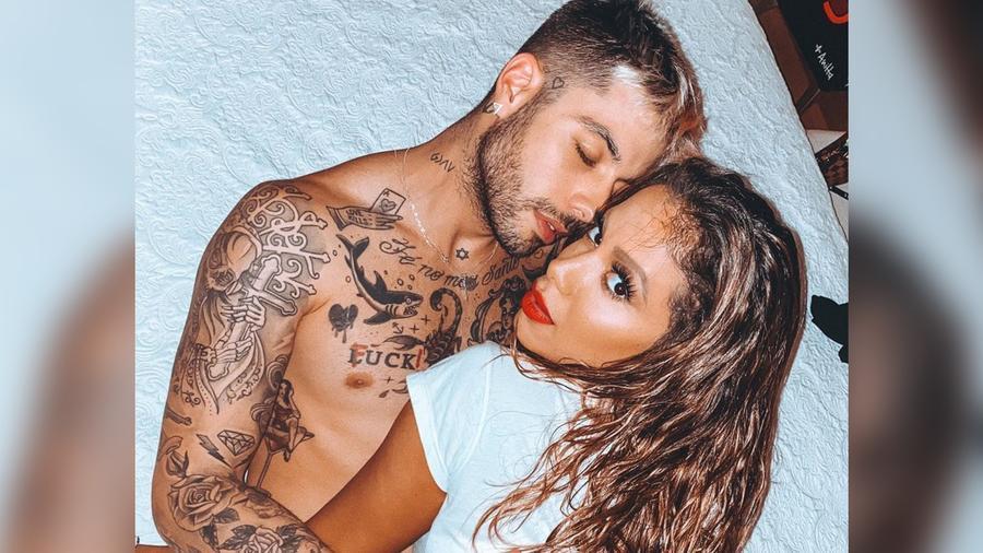 Anitta y Gui Araújo