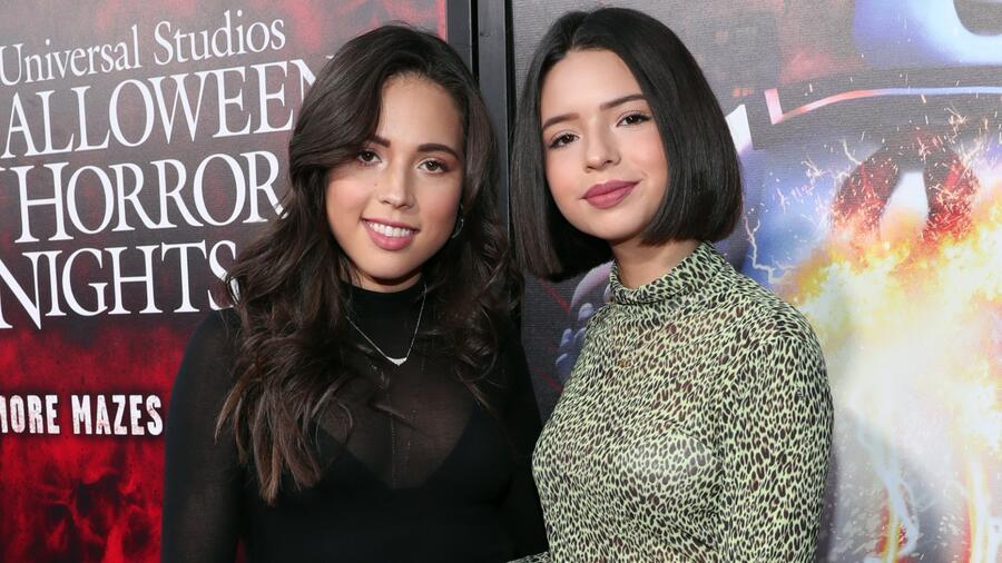 Ángela y Aneliz Aguilar