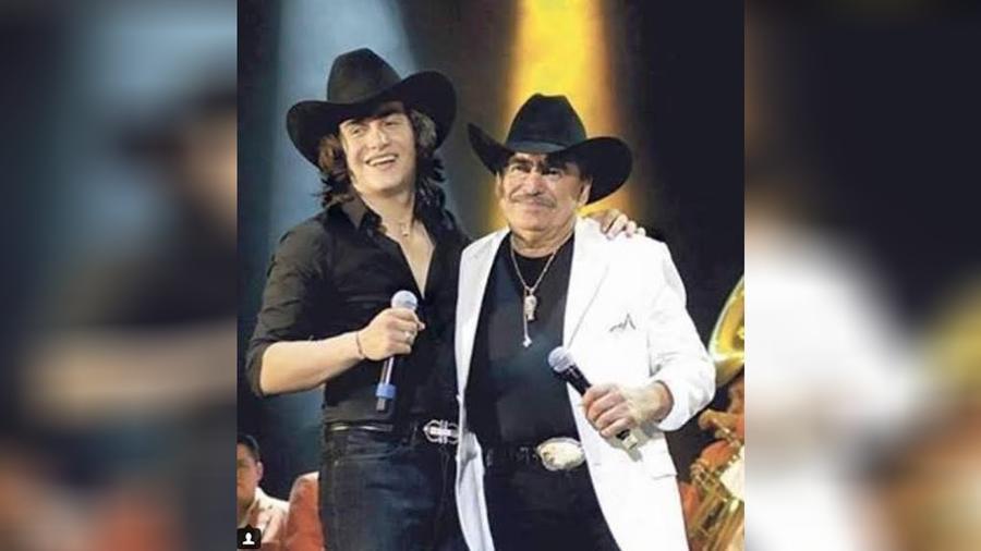 Julián Figueroa y Joan Sebastian