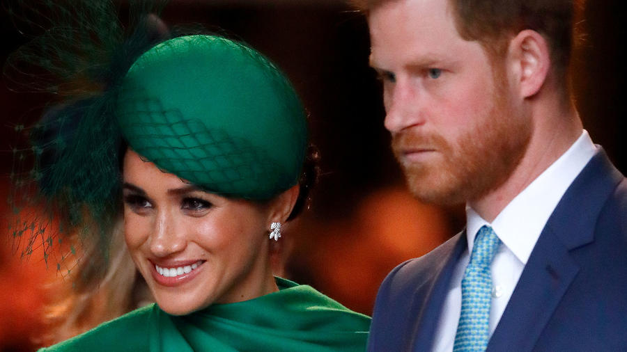 Meghan Markle y Harry en el Commonwealth Day Service 2020