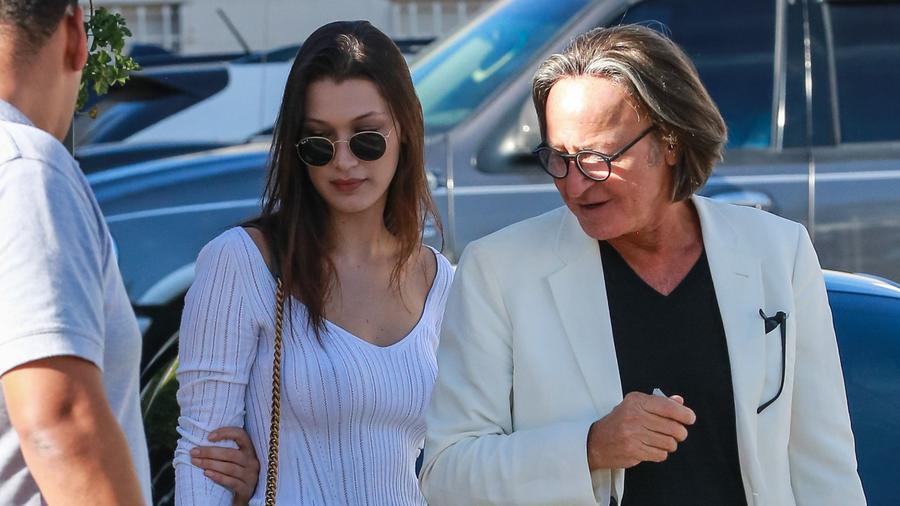 Bella Hadid y su padre