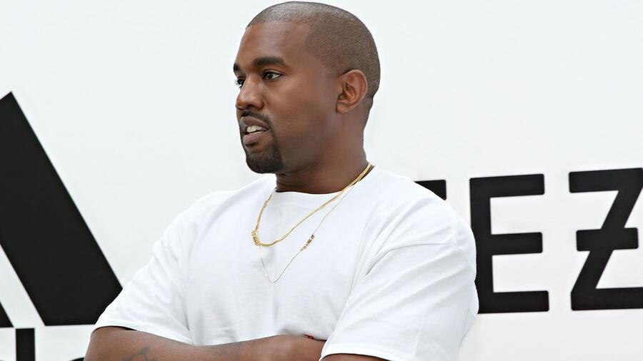 Kanye West en Milk studios