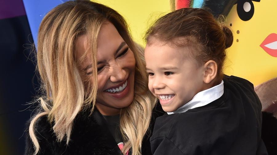 Naya Rivera y su hijo Josey Dorsey, 2019