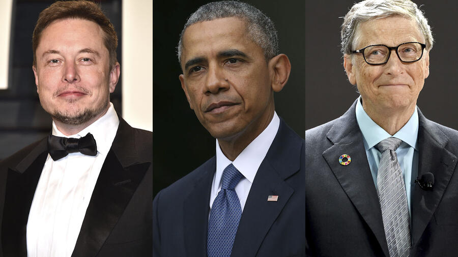 Elon Musk, barak Obama y Bill Gates