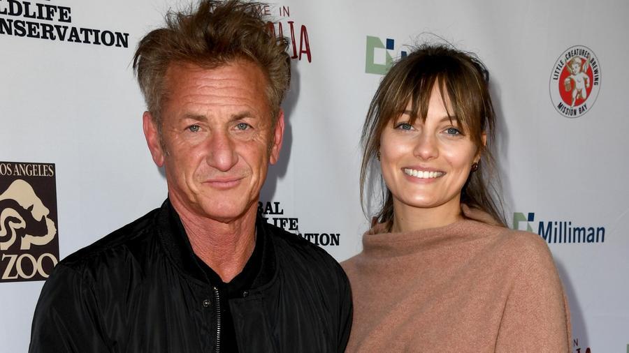 Sean Penn y Leila George