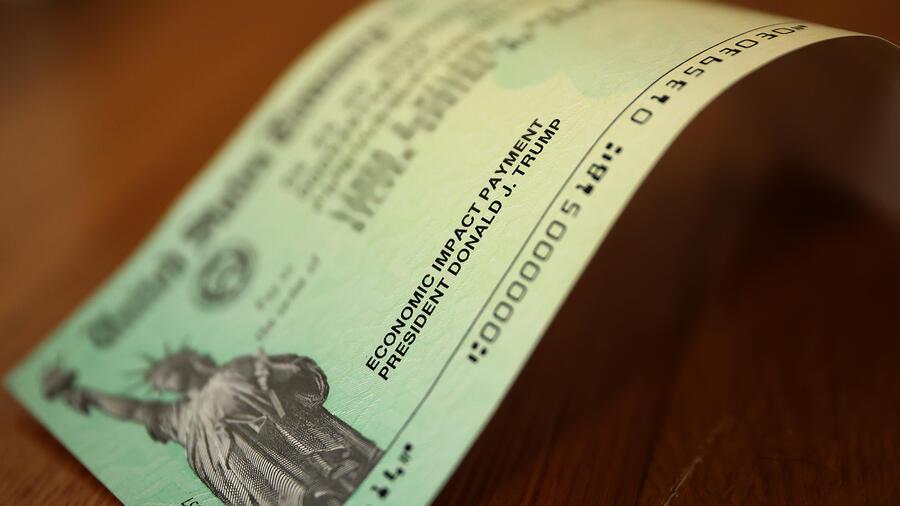 El cheque de estímulo económico ante la pandemia del coronavirus.