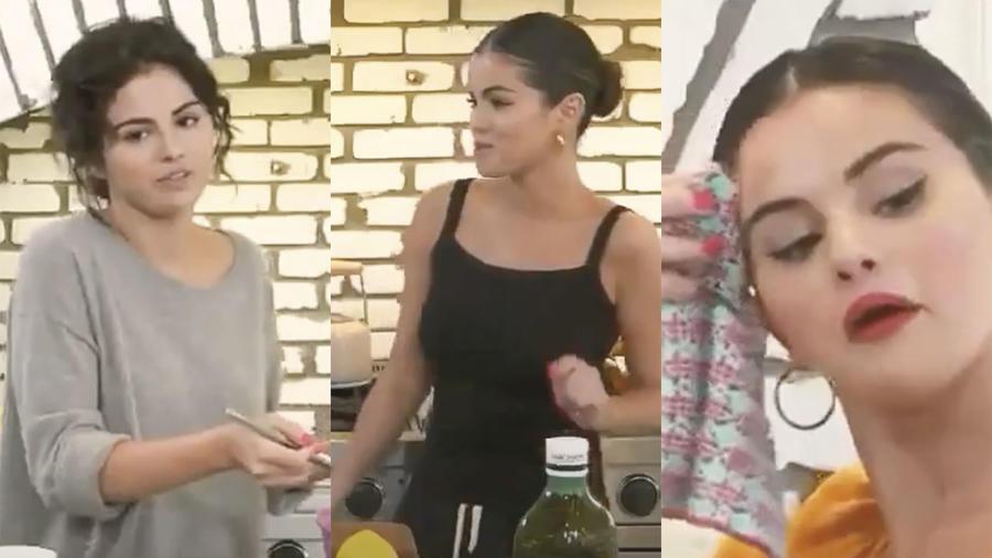 Selena Gomez Cocinando