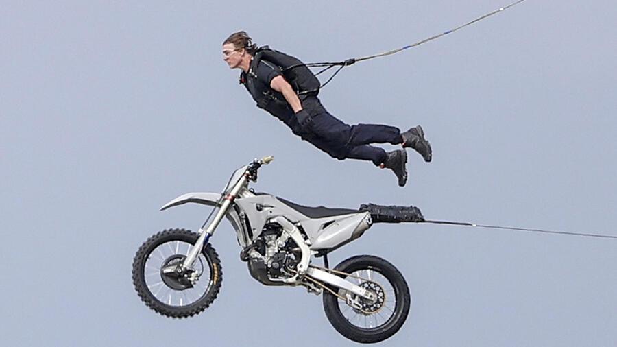 Tom Cruise grabacion Mission Impossible 7