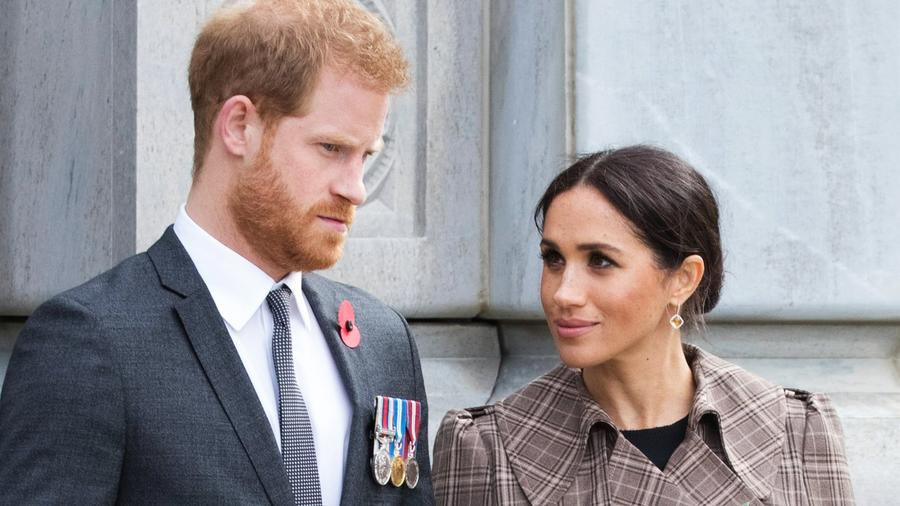 Harry y Meghan, el duque y la duquesa de Sussex.