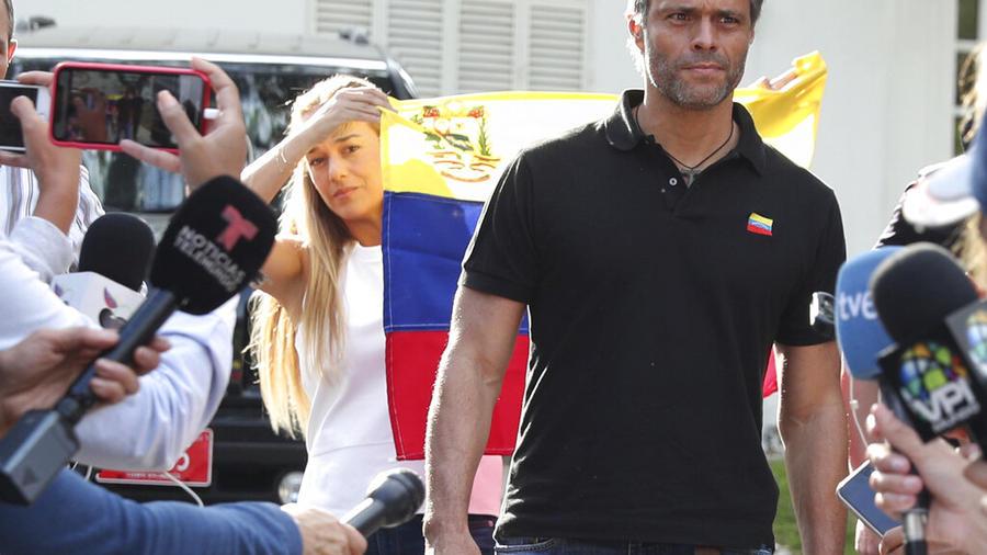 El líder de la oposición venezolana, Leopoldo López