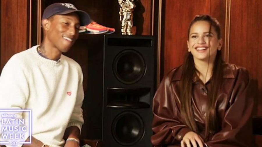 Pharrell Williams, Rosalía