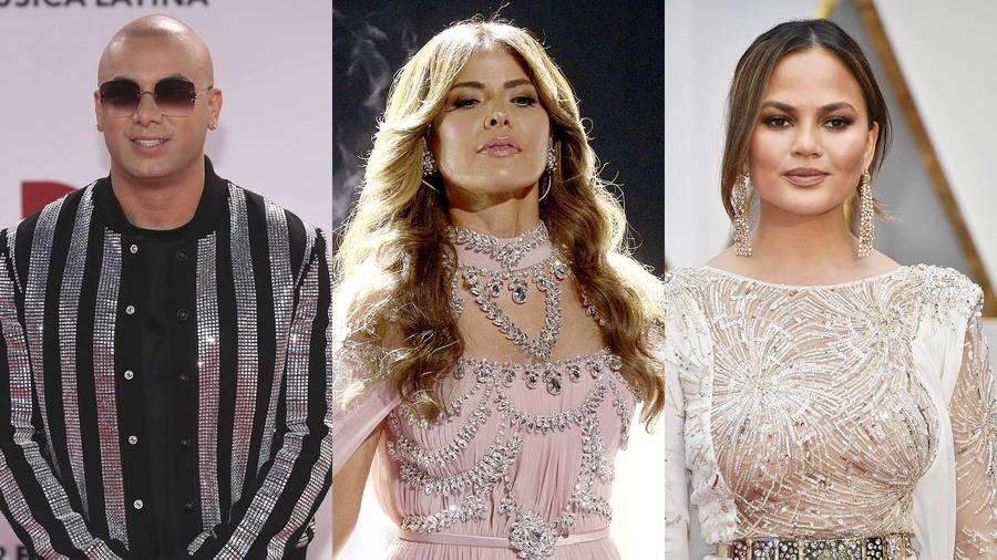Chrissy Teigen, Gloria Trevi, wisin