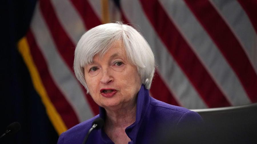 La expresidenta de la Reserva Federal, Janet Yellen