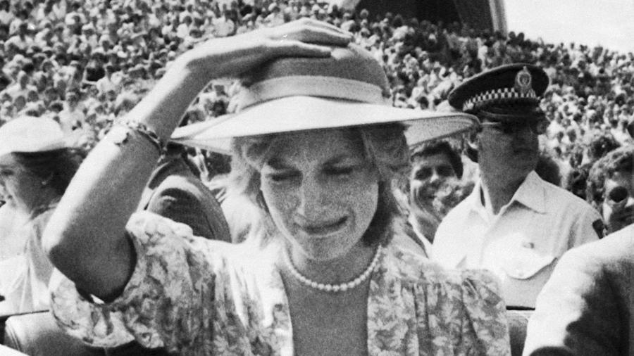 Princesa Diana Gira Autraliana