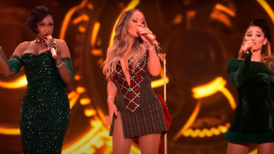 Mariah Carey, Ariana Grande y Jennifer Hudson