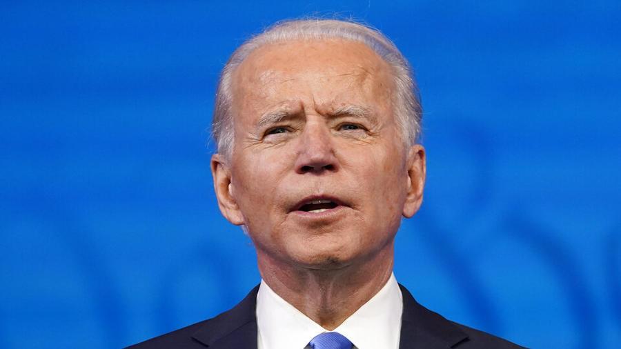 El presidente electo, Joe Biden
