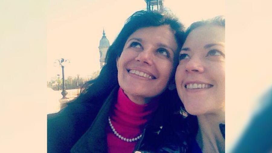 Cecilia García Barrios y Fernanda Castillo