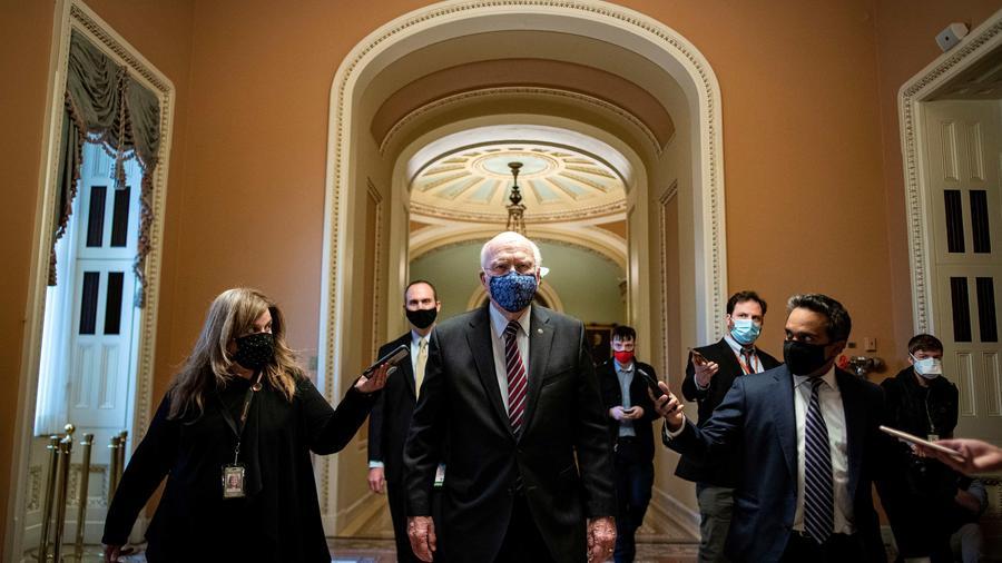 El senador estadounidense Patrick Leahy