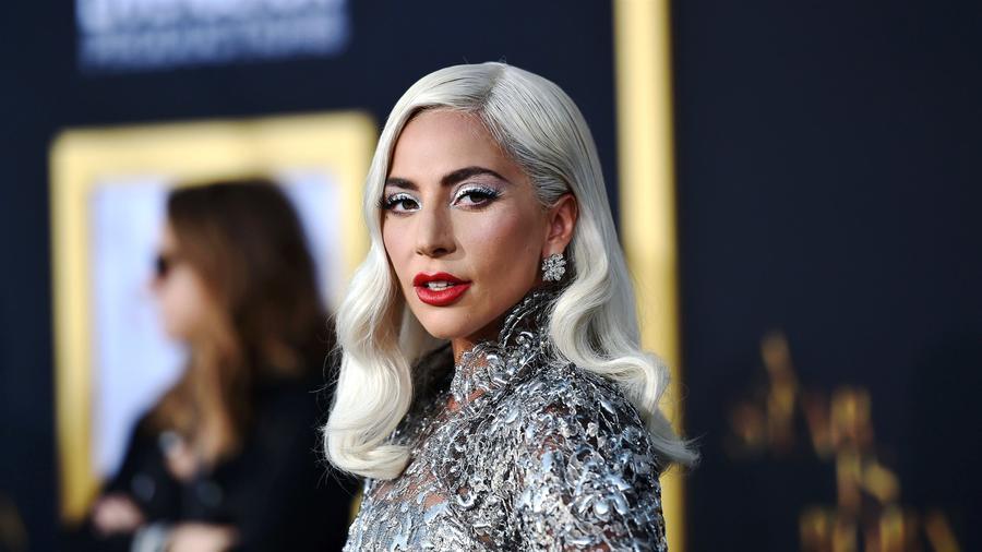Lady Gaga asiste a la presentacion de la película Nace una Estrella, en Los Ángeles, el 24 de septiembre de 2018.