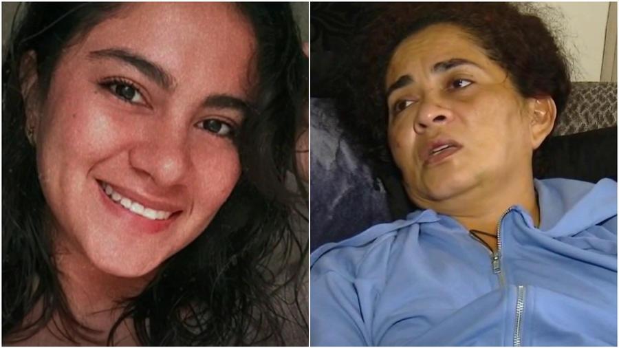 Yesenia Cardona (izq.) y su madre, Verlyn Cardona (der.)
