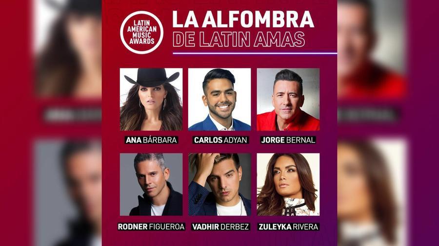 Latin AMAs 2021: 'La alfombra roja' y 'Acceso VIP' serán los especiales de la noche