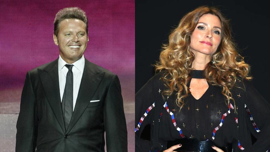 Luis Miguel e Issabela Camil