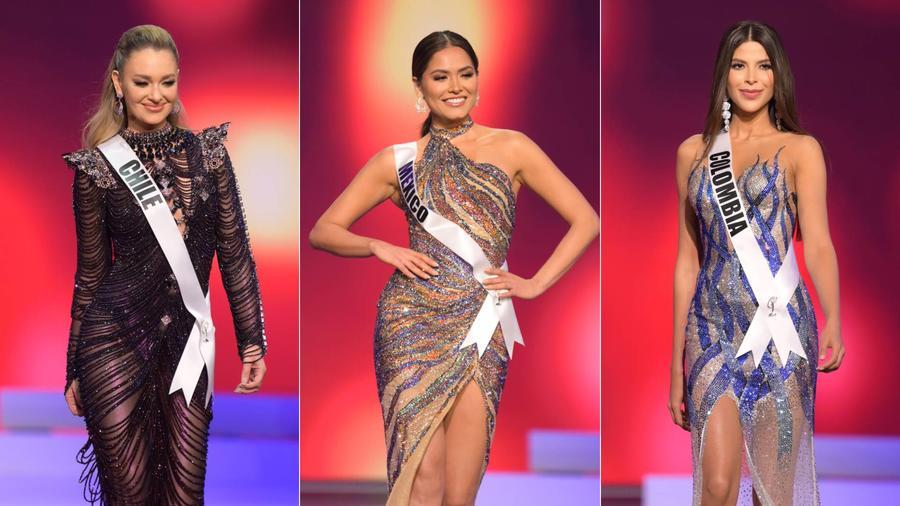 Miss Chile, Miss México, Miss Colombia, candidatas latinas en la competencia preliminar de Miss Universo 69na. edición, 2021