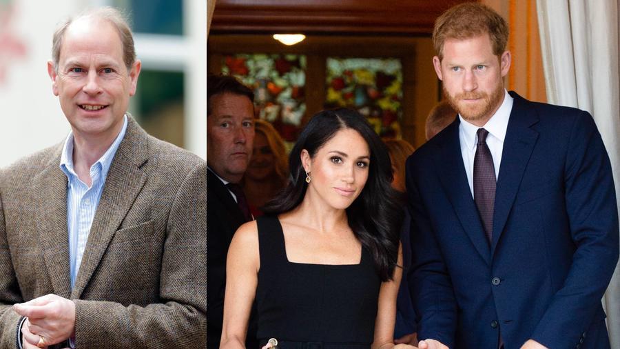 Príncipe Edward, Harry y Meghan