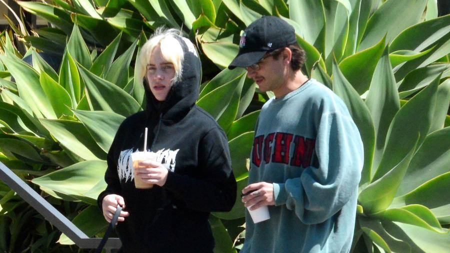 Billie Eilish y Matthew Tyler Vorce