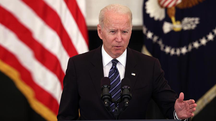 El presidente Joe Biden habla sobre las medidas de prevención de delitos con armas de fuego en la Casa Blanca el 23 de junio de 2021 en Washington, DC.