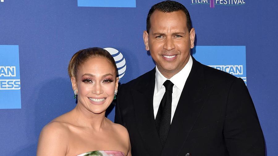 Jennifer Lopez and Alex Rodriguez 2020 California