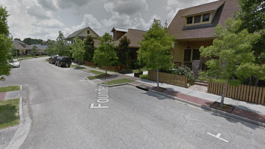 El vecindario en Lafayette, Louisiana, donde se produjo el secuestro de la esposa de Michael Handley
