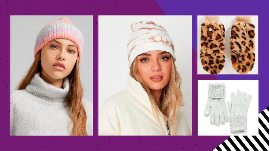 18 cálidos gorros y guantes tejidos para protegerte del frío | Telemundo