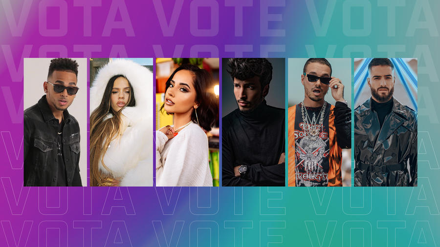 Latin AMAs 2019- ¡Vota por tus favoritos!