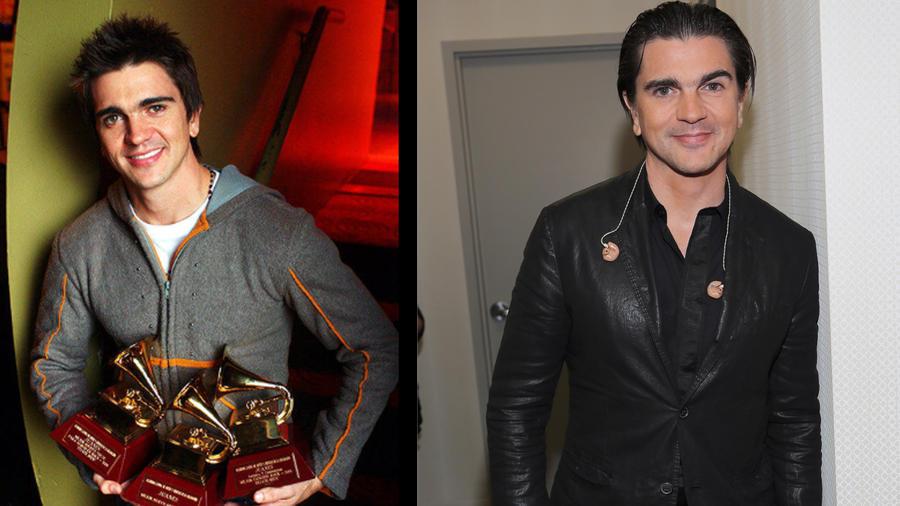 El look antes y después de Juanes